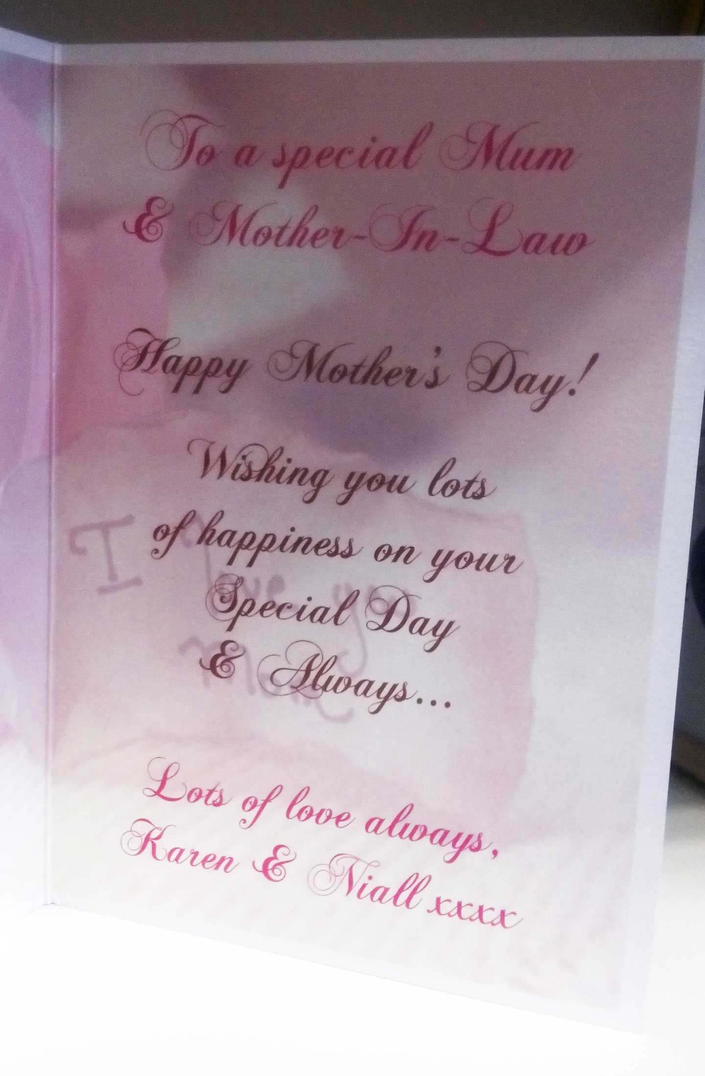 Mothers Day Card Horizon Designs
