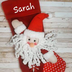 3D Santa Stocking